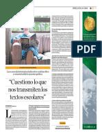 «Cuestiono lo que nos transmiten los textos escolares». Entrevista con Scarlett O'Phelan Godoy por Katherine Subirana Abanto. El Dominical.pdf