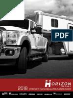 Horizon Global Catalog 2018