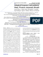 Analysis of histological frequency and pediatric cancer in Rondônia, Western Amazonia (Brazil)