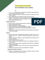 MODELOS  AUDITORIA DE COMPONENTES  PARA LA EMPRESA
