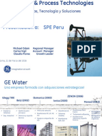 II Conferencia 2016 SPE GE Water & Process Technologies