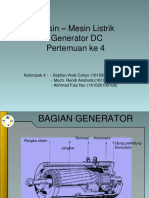 Presentasi Generator Dc