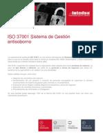Presentacion Iso 37001 Sistema de Gestion Antisoborno