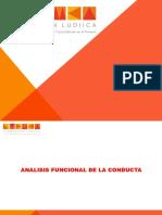 Analsis Funcional de La Conducta