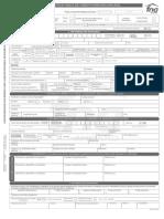Formulario de Credito Fondo Nacional Del Ahorro