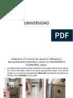 Universidad Elementos