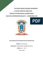Evaluacion de Los Procesos de Post Produccion