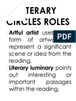 Literary Circles Roles