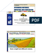 Microsoft PowerPoint - Lecture 7, Chapter 4b (Geotechnical Materials, Compaction and Stabilization)
