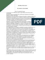 8506188 El Sujeto y El Poder Michael Foucault