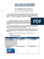 Plan de Trabajo de Logistica 08-07-18