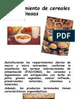 4° Procesamiento de cereales y leguminosa