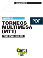 Juan Carreño- Poker Torneos Multimesa MTT