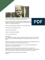 Dictadura Manuel Estrada Cabrera