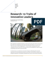 Innovative Leadership HBR