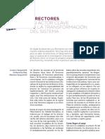 """Avance Informe """"Directores de escuelas"""" - Observatorio de Calidad Educativa"""
