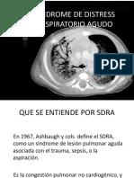 Síndrome de Distress Respiratorio Agudo