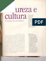 Natueza e Cultura