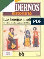066 - Las herejias medievales.pdf