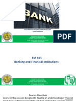 Week 1.1-Banking and Financial Institutions