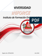 Universidad INFORCE Comitan oferta educativa carreras