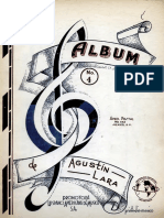 Agustin Lara Album No 4