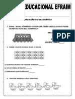 AVALIAÇÃO 2° BIMESTRE
