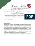 3269-3286 Problematicas en El Sector Productivo de La Industria Automotriz