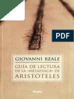 REALE - Guía de lectura de la Metafísica.pdf