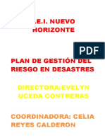 Plan Nuevo Horizonte