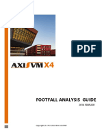 Axisvm Footfall Guide En