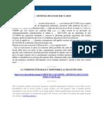 Fisco e Diritto - Corte Di Cassazione n 26138 2010