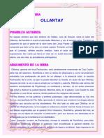 Ollantay monografia