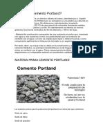 Cemento Química