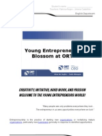 Entrepreneurship Project at ORT Almagro