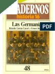 [Cuadernos De Historia 16 número 48] Ricardo García Cárcel y otro - Las Germanias (1985, Historia 16).pdf