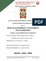 Informe de Indice de Aplanamiento y Alargamiento