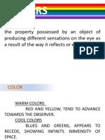 semiotic of colors