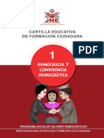 Cartilla Educativa Convivencia Democratica