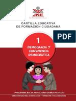 Cartilla Educativa Convivencia Democratica