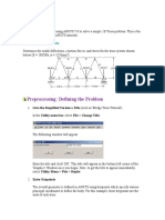 Tutorial Trelica - ANSYS
