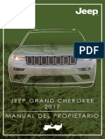 Jeep Grand Cherokee Manual de Usuario 2017