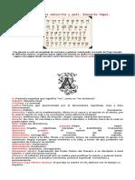 Diccionario o glosario Yogui