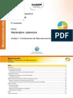 Unidad 1 Fundamentos Macroeconomia Contenido Nuclear