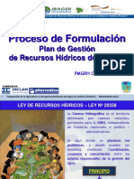 Proceso de Formulación Del Pgrhc
