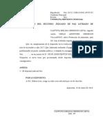 Consignación de Depósito Judicial