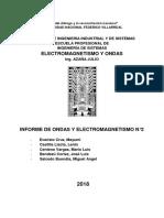 2do Informe de Electromagnetismo