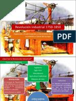 Revolución industrial 1750-1850