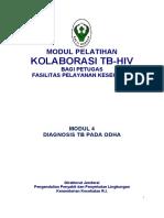 MI 4, Diagnosis TB Pada ODHA