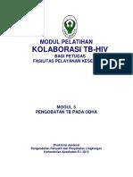 MI 5, Pengobatan TB Pada ODHA